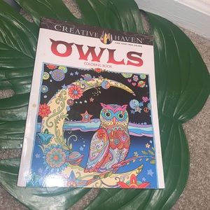 ‼️5/25$‼️Owls Adult Therapy Book